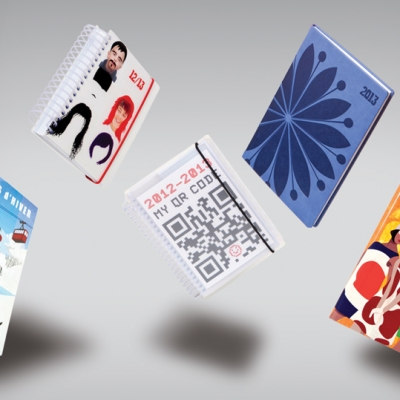 Design for global notebook brand Letts Filofax