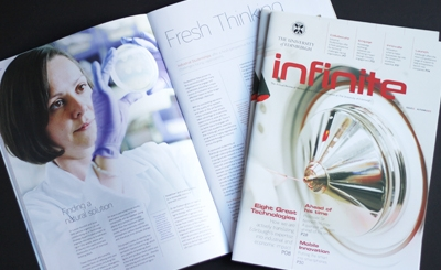 Making great design even better: Infinite Magazine
