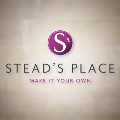 Commercial property branding for Stead's Place