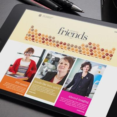 Let's Get Digital: Edinburgh Friends Magazine