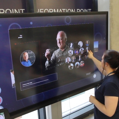 User Experience for an Interactive Touch Kiosk