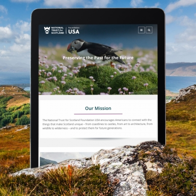How a New Website Benefits Scotland's Heritage from Afar