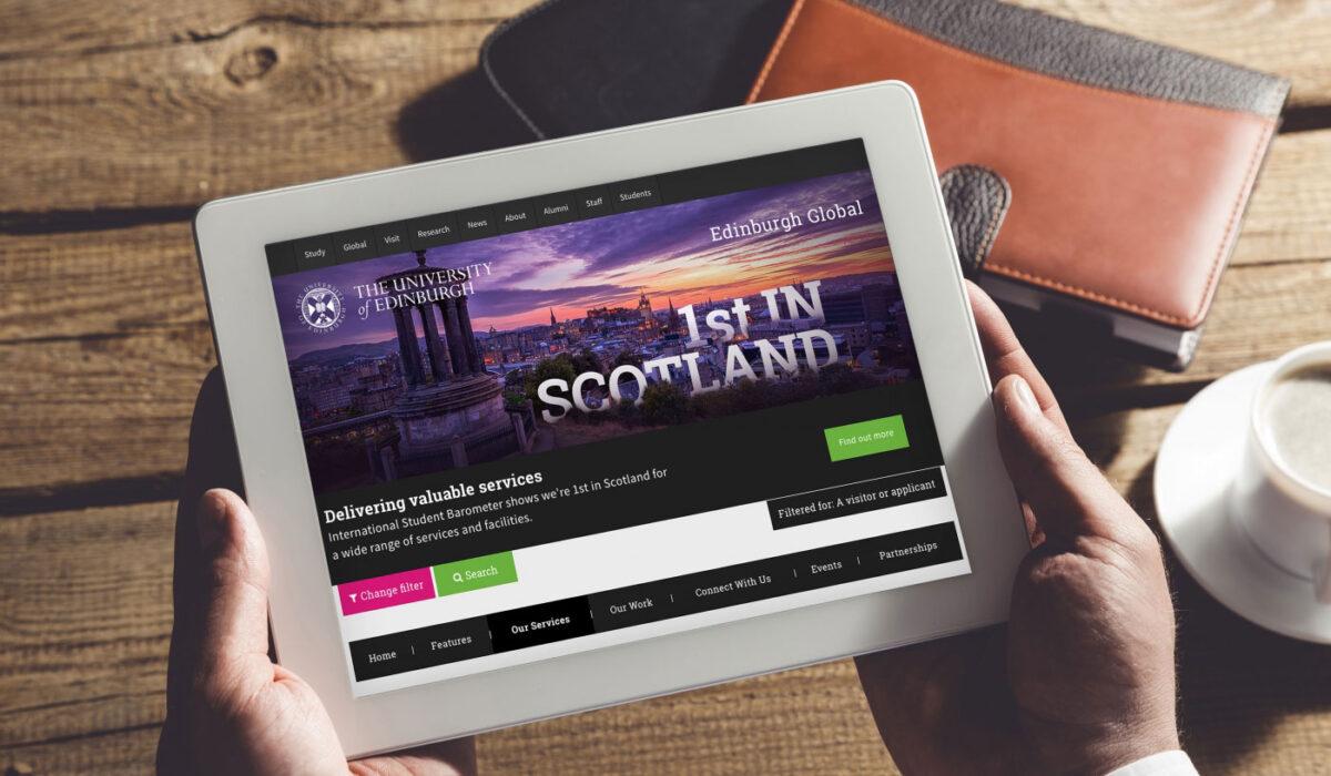 Edinburgh Global Website Design