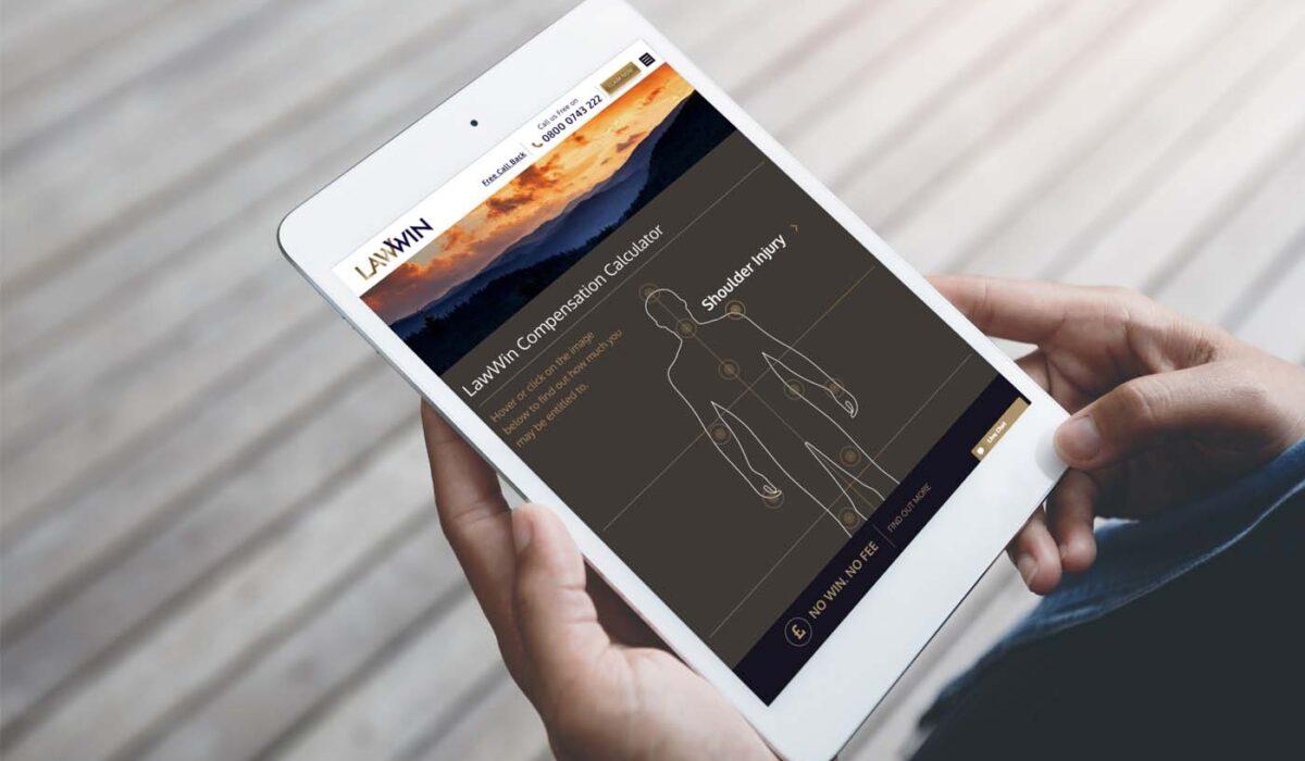LawWin mobile design